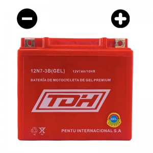 BATERIA TDH ECO TECH  GEL ROJO  12N7-3B