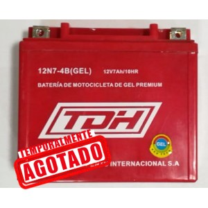 BATERIA TDH ECO TECH GEL ROJO 12N7-4B