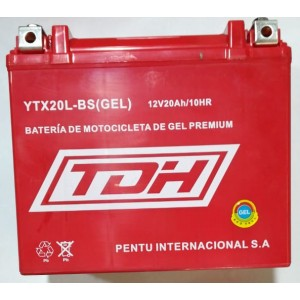 BATERIA TDH ECO TECH GEL ROJO YTX20L-BS