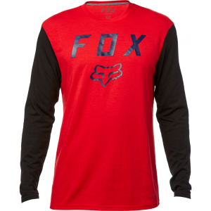 CAMISA FOX ROJA MANGA LARGA