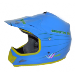 CASCO BLD CROSS  JUNIOR VERDE CELESTE XL