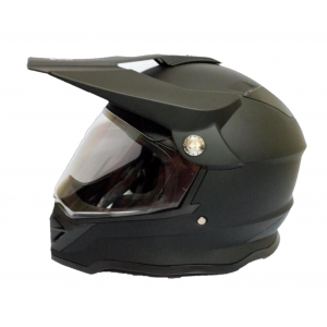 CASCO BLD SOLIDO NEGRO MATE
