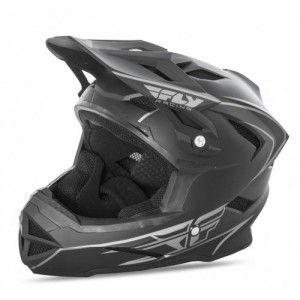 CASCO FLY DEFAULT  NEGRO MATE L