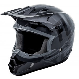 CASCO FLY KINETIC BUMISH NEGRO GRIS