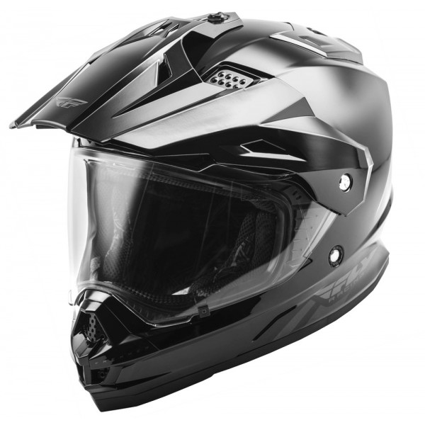 CASCO FLY TREKKER NEGRO BRILLANTE
