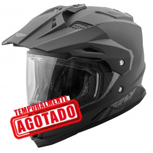 CASCO FLY TREKKER NEGRO MATE