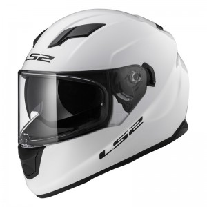 CASCO LS2 STREAM BLANCO BRILLANTE
