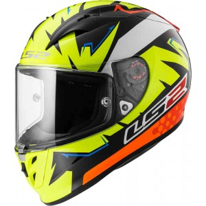 CASCO LS2 CROSS ISAAC VIÑALES REPLICA AMARILLO M