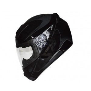CASCO LS2 FLICKER NEGRO GRIS