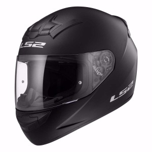 CASCO LS2 SINGLE MONO NEGRO MATE L