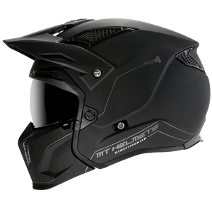 CASCO MT TR902XSV STREETFIGHTER SOLID A1 NEGRO MATE