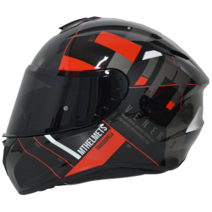 CASCO MT TARGO VENERIS ROJO BRILLO