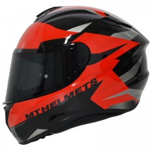 CASCO MT TARGO ENJOY ROJO BRILLO