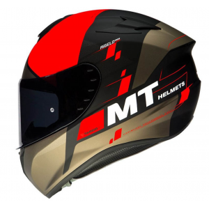 CASCO MT TARGO RIGEL ROJO MATE