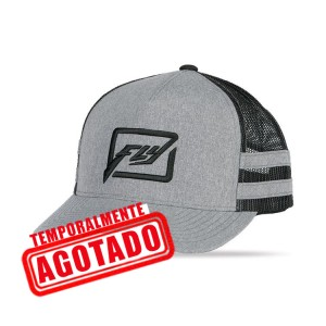 GORRA FLY HUCK IT NEGRO GRIS