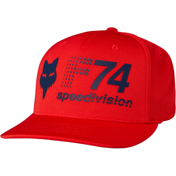 GORRA FOX FLEXFIT ROJA 19563