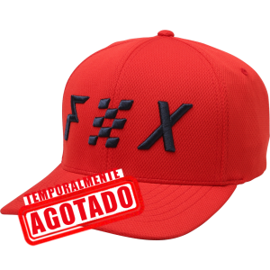 Gorra Fox Intercede Flexfit roja