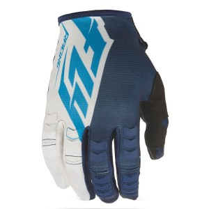 GUANTES FLY KINETIC AZUL BLANCO S-M-L-XL