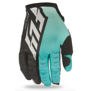 GUANTES FLY KINETIC TEAL-NEGRO L