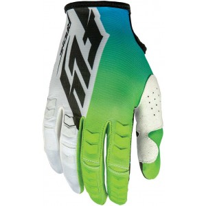 GUANTES FLY KINETIC VERDE BLANCO NEGRO S-M-L-XL