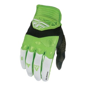 GUANTES FLY F-16 BLANCO-VERDE