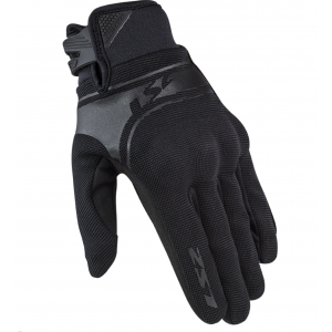 GUANTE LS2 JET 2 MUJER NEGRO