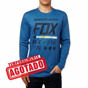 CAMISA AZUL MANGA LARGA | Fox Racing
